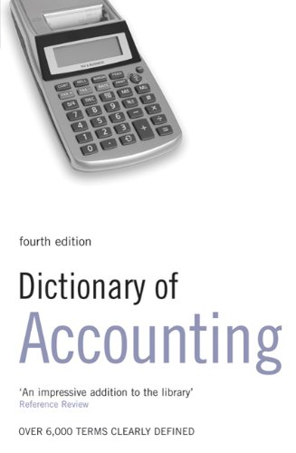 Dictionary of Accounting