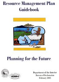 Resource Management Plan Guidebook